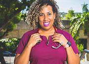 Photo of Veronica Jograj-Ortiz, a registered nurse with the VA Caribbean Healthcare System (VACHS).