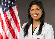 A picture of Dr. Veronica Sikka, Chief of Virtual Care, VISN 8 Clinical Contact Center.