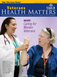 Veterans Health Matters winter 2015 cover