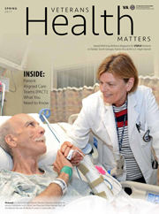 Veterans Health Matters winter 2016-17 cover