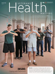 Veterans Health Matters Winter 2017 cover